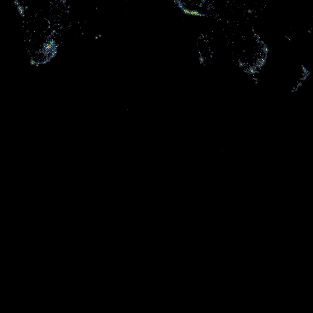 Light Pollution Atlas 2006 on